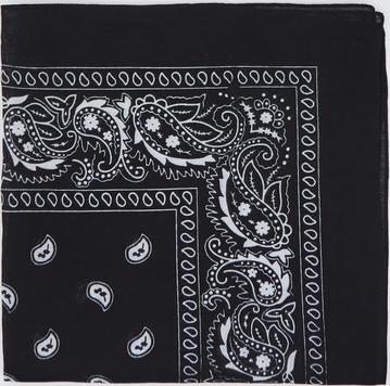 Czarny szalik Sinsay