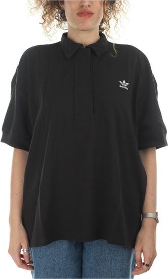 Czarny t-shirt Adidas