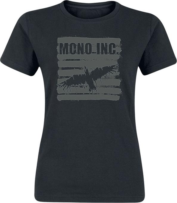 Czarny t-shirt Emp z krótkim rękawem w młodzieżowym stylu z bawełny