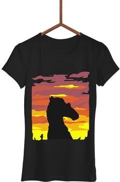 Czarny t-shirt Failfake z krótkim rękawem w młodzieżowym stylu