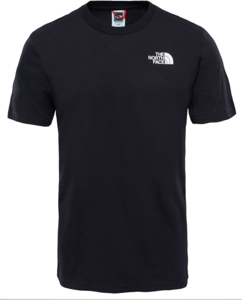 Czarny t-shirt The North Face