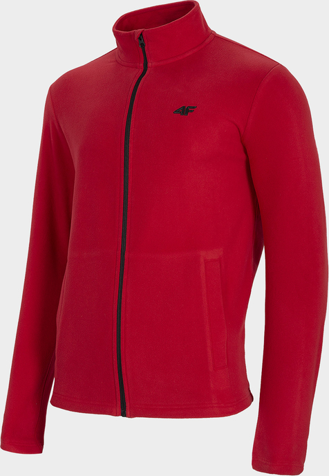 Czerwona bluza 4F z plaru