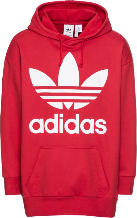 8bc6d23fe Czerwona bluza Adidas Originals w sportowym stylu