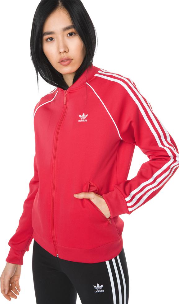 8ded07e3f Czerwona bluza Adidas Originals