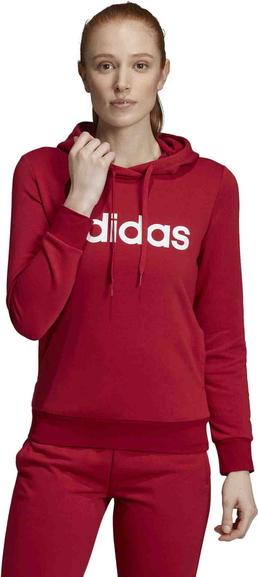 tani Czerwona bluza Adidas z bawełny Odzież Damskie Swetry i