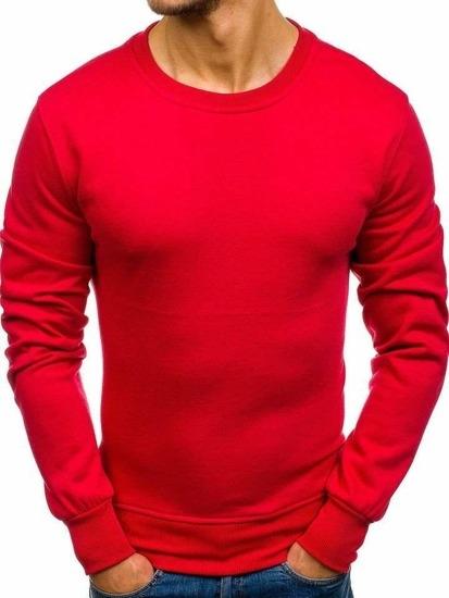Czerwona bluza Denley w street stylu
