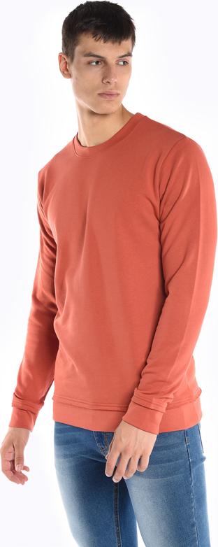 Czerwona bluza Gate z bawełny