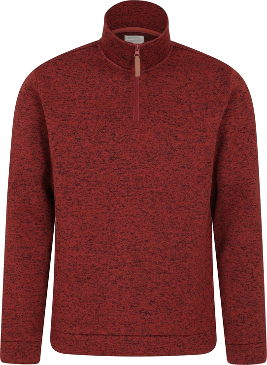 Czerwona bluza Mountain Warehouse z polaru