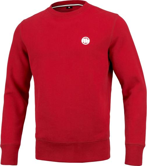 Czerwona bluza Pit Bull z bawełny