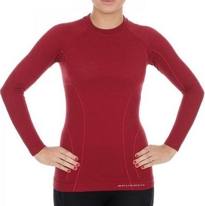 85% ZNIŻKI Czerwona bluza Adidas z bawełny Odzież Damskie