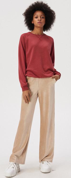 Czerwona bluza Sinsay krótka