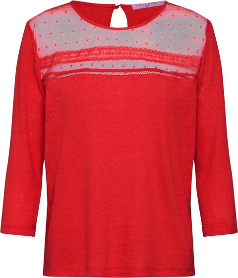 Czerwona bluzka ARTLOVE Paris z dżerseju