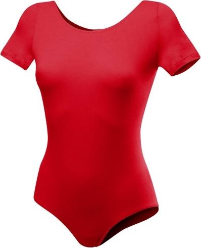 Czerwona bluzka dziecięca Rennwear z krótkim rękawem