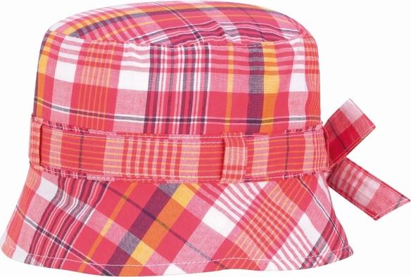 Czerwona czapka Döll w krateczkę