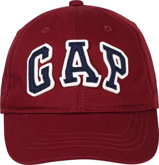 Czerwona czapka Gap