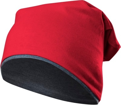 Czerwona czapka Rennwear z dzianiny