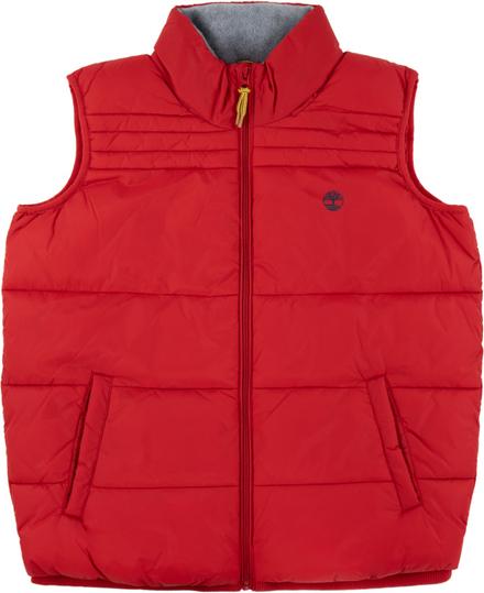 Czerwona kamizelka dziecięca Timberland