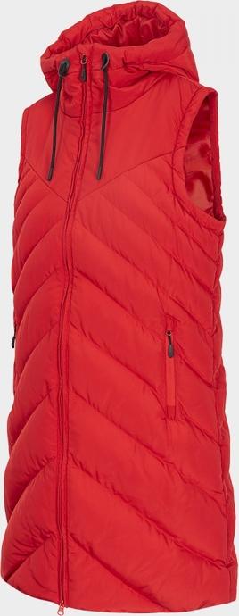 Czerwona kamizelka Outhorn w stylu casual