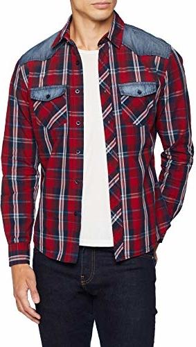 Czerwona koszula Inside w młodzieżowym stylu