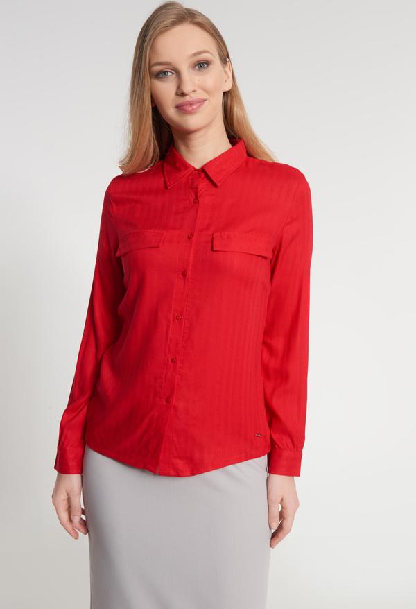 Czerwona koszula QUIOSQUE