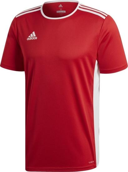 Czerwona koszulka dziecięca darcet dla chłopców z krótkim rękawem