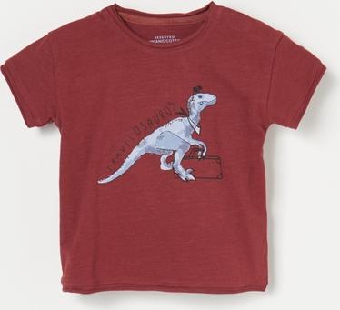 Czerwona koszulka dziecięca Reserved dla chłopców