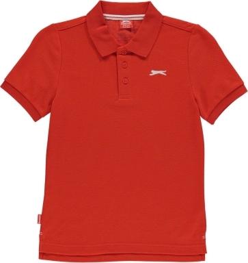 Czerwona koszulka dziecięca Slazenger