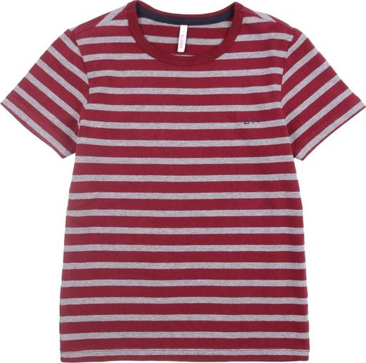 Czerwona koszulka dziecięca Sun 68 z bawełny