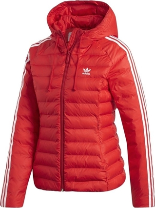 Stała usługa Czerwona kurtka Adidas Originals krÓtka Odzież