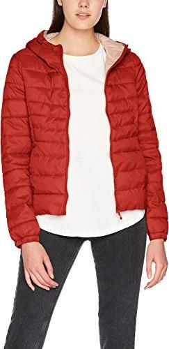 Czerwona kurtka amazon.de w stylu casual