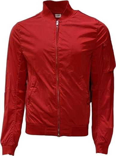 Czerwona kurtka C.P. Company z tkaniny
