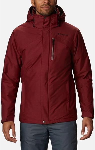 Czerwona kurtka Columbia w stylu casual krótka