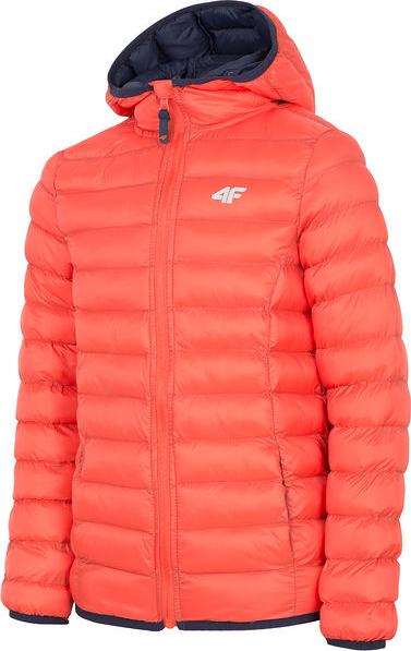 Czerwona kurtka dziecięca 4F