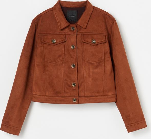Czerwona kurtka dziecięca Reserved