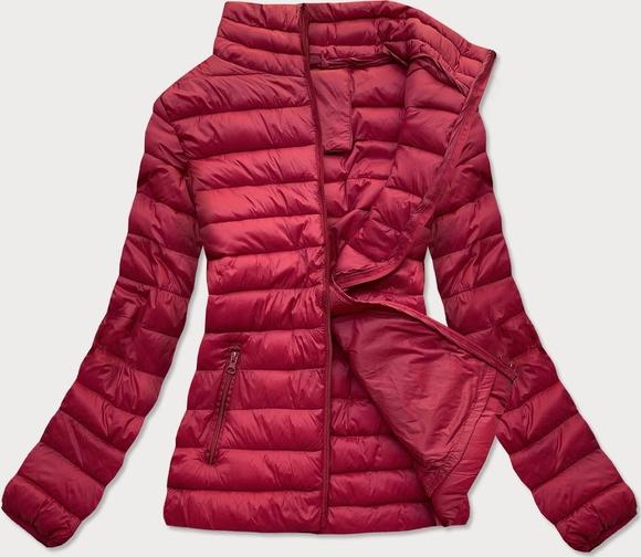 Czerwona kurtka Goodlookin.pl krótka w stylu casual