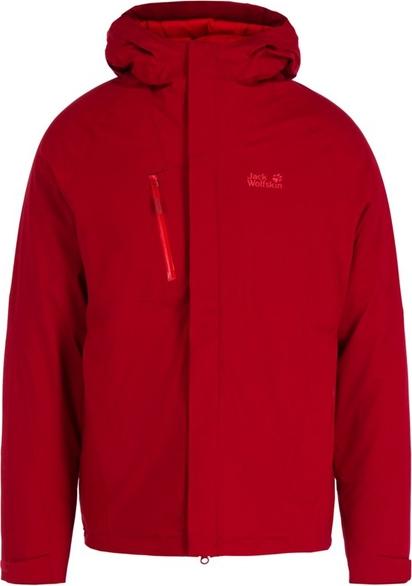 Czerwona kurtka Jack Wolfskin w stylu casual