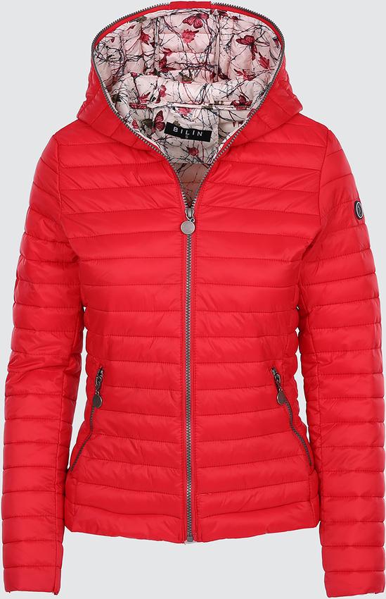 Czerwona kurtka modoline w młodzieżowym stylu