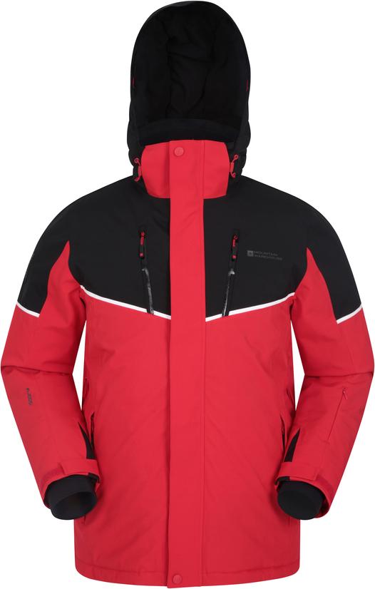 Czerwona kurtka Mountain Warehouse z tkaniny