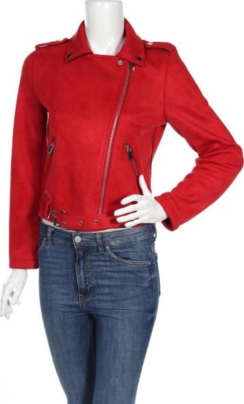 Czerwona kurtka Primark w stylu casual