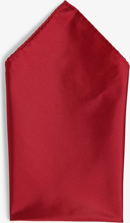 Czerwona poszetka Finshley & Harding