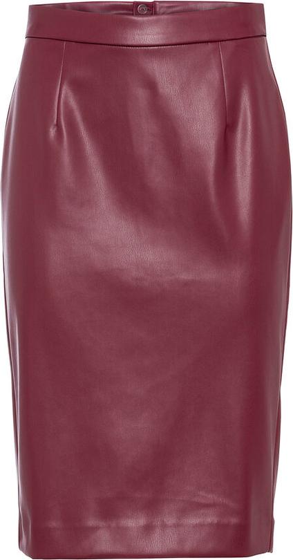 Czerwona spódnica bonprix midi