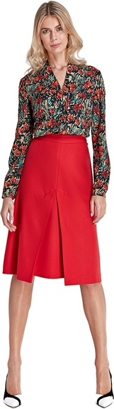 Czerwona spódnica Colett