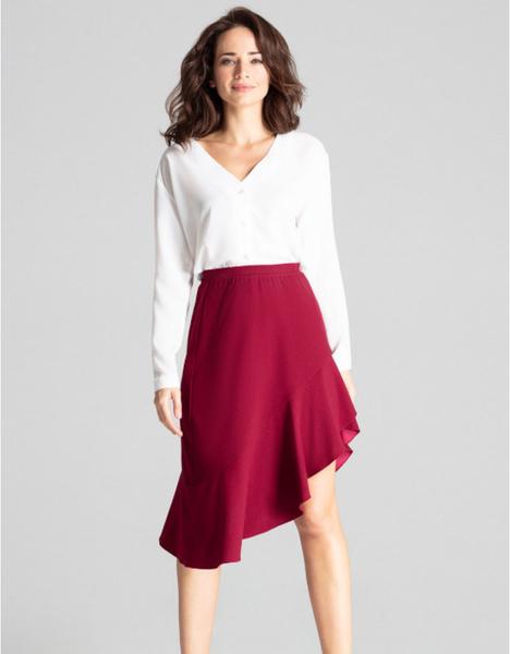 Czerwona spódnica LENITIF