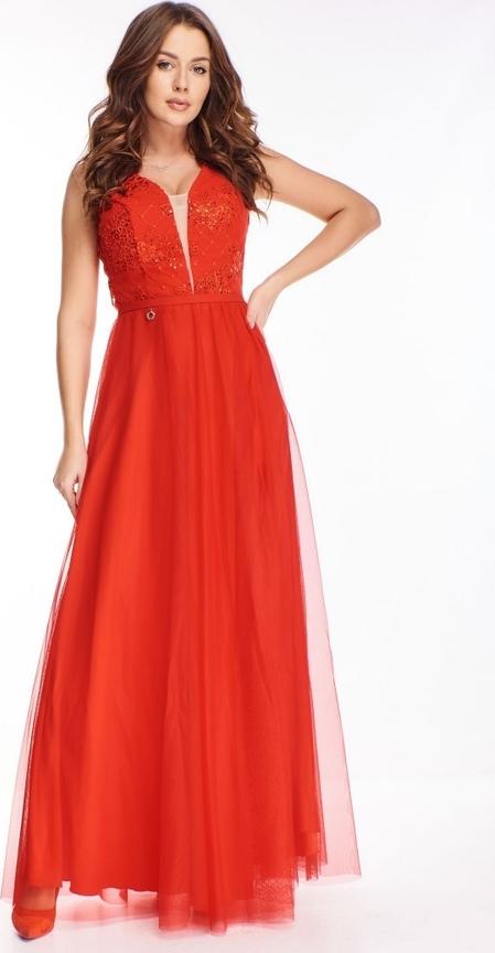 Czerwona sukienka candivia.pl