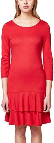 Czerwona sukienka esprit