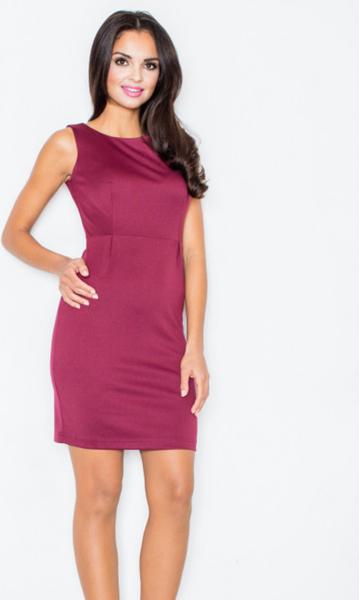 Czerwona sukienka Figl mini
