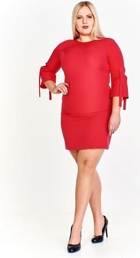 Czerwona sukienka Fokus ołówkowa