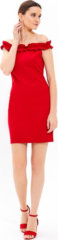 Czerwona sukienka Gate mini ołówkowa