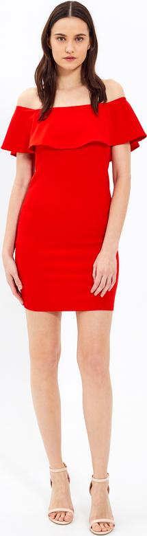Czerwona sukienka Gate ołówkowa mini