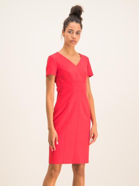 Czerwona sukienka Hugo Boss mini